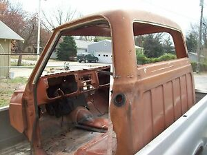 67 72 Chevy Gmc Truck Cab For Parts