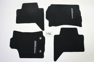 Oem Black Limited Front Rear Floor Mats Toyota Tacoma Crew Cab 16 17 18 Nice
