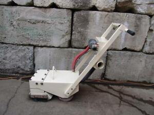 Edco Cd 5 Concrete Scabbler Grinder Scarifier 5 Head Carbide Air Jackhammer 2