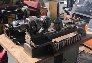 Hardinge Elgin Metal Lathe 9 Collet Machinist Tool Room Watchmaker Jeweler