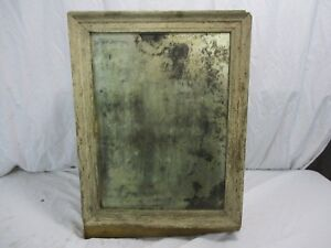 Antique Wood Surface Wall Mount Medicine Cabinet Shabby Vtg Chic Primitive Movie