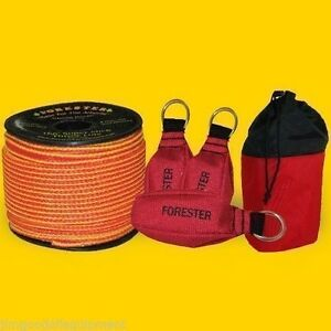 Forester Super Throw Line Kit 166 Throw Line 3 Throw Bags Free Mini Bag