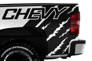 Vinyl Decal Wrap Kit Chevy Quarter For 2008 2013 Chevrolet Silverado Matte Black