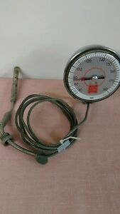 Barber Coleman Temperature Probe With Gauge 30 To 180 Degrees