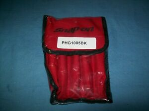 New Snap on Air Hammer Bit Set In Kit Bag Phg1005bk 5 piece Set Sealed
