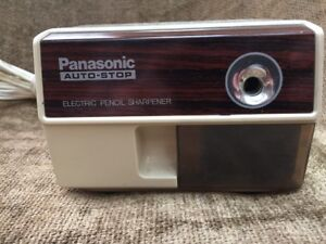 Panasonic Model Kp 110 Electric Pencil Sharpener With Auto stop