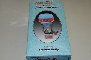 COCA COLA EMMETT KELLY IN AIR BALLOON