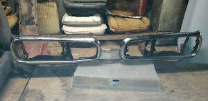 1970 Dodge Coronet Front Bumper Brackets 500 R t Complete 70 Station Wagon 440
