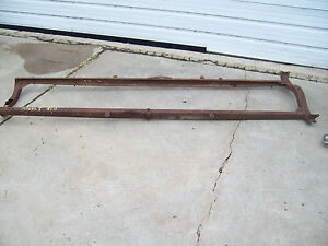Vintage Ford Model T Frame And Brackets Man Cave Steampunk