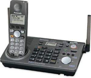 Panasonic Kx tg6700 5 8ghz Cordless 2line Answering Phone System With 8 Handsets