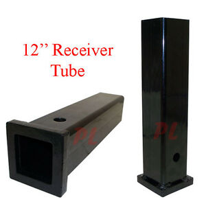 2 X 12 Receiver Tube Trailer Hitchtube Extender Extension Receiver