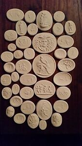 40 Europe Grand Tours Cameos Intaglios Gems Medallions Plaster Seals Tassies