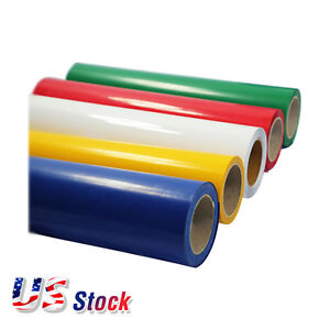 Usa Colors 20 X 21 Yard Roll Pvc Pet Digital Heat Press Transfer Vinyl Film