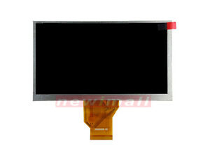 7 Inch Lcd Screen Display Fit For Snooper S8000 Lcd Panel Replacement