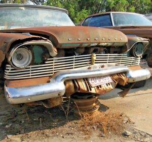 1957 Plymouth Savoy Grille