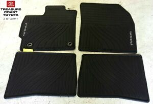 New Oem Toyota Prius 2012 2015 All Weather Floor Mats 4 Piece Set