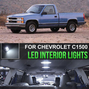 14pcs Led Interior Lights Package Kit For 95 98 Chevy Silverado Gmc Sierra J1