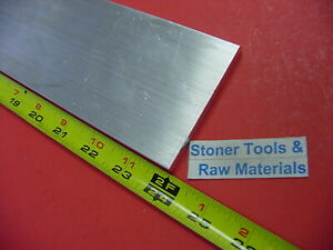 2 Pieces 1 2 x 5 Aluminum 6061 Flat Bar 24 Long T651 Solid Extruded Mill Stock