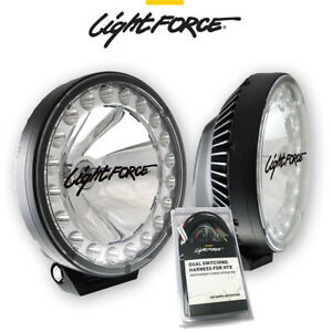Lightforce Htx Mk2 Hybrid 70w Hid Led 12v Driving Lights With Wiring Harness