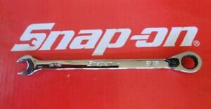 Snap On Tools 9 16 Flank Drive Plus Reversible Ratcheting Combo Wrench Soexr18