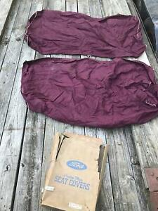 1946 1948 Ford Mercury Coupe Nos Seat Cover Set