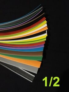 1 2 12 7mm Assorted 12 Colors 2 1 Heat Shrink Tubing Polyolefin 6 Foot