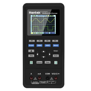 Handheld Oscilloscope 2ch 40mhz 250msa s Type C Multimeter 2in1 Hantek 2c42