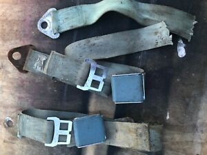 1964 65 Dodge Plymouth Bench Seat Seatbelts