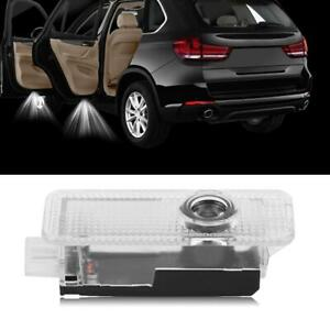 4 Car Door Courtesy Led Projector Ghost Shadow Light For Bmw Logo Welcome Light