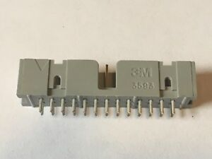 Header 13 X 2 Pin Male Walled 3m 3593