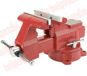 Wilton Large 6 1 2 Swivel Base Bench Vise Anvil Pipe Clamp Spinning Shop Vice