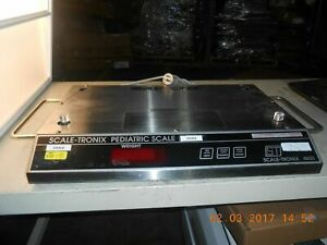 Scale tronix 4800 Pediatric Scale Broken use As Parts