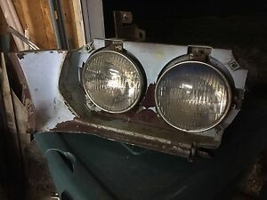 1972 Ford Torino Gt Lh Drivers Side Front Headlight Bucket Housing