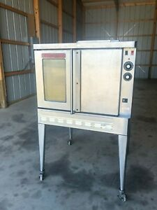 Blodgett Commercial Gas Stainless Steel Convection Oven Pizza Bakery Stand