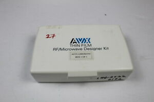 Avx Accu l0603kit02 Thin Film Inductor Rf Designer Kit Smd