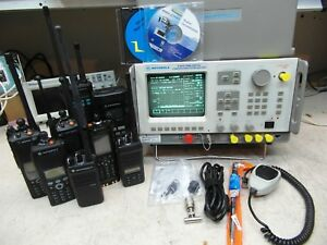 Motorola R2670a P25 Aes Communications Service Monitor Spectrum Analyzer Loaded