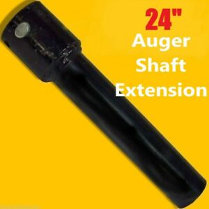 24 Auger Bit Extension For Skid Steer Fits 2 9 16 Auger Bits fixed Length usa
