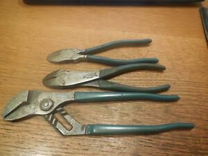 3 Channellock Pliers 1 Tongue And Groove And 2 Diagonal Cutters Meadville Pa