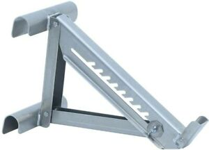 2 rung Ladder Jack Aluminum With Welded Riveted Construction Weather Resistant