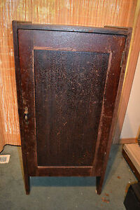 Antique Wood Gramophone Cabinet Lp Record Sheet Music Holder Stereo Phonograph