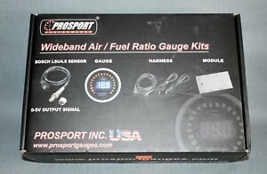 New Prosport Wideband Air Fuel Ratio Digital Gauges Psafrlcdwb4 9 Blu Wo