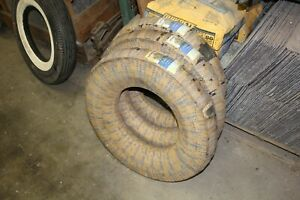 1963 1964 Corvette Nos 6 70x15 Goodyear Tires Set Of 3