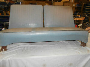 1964 Plymouth Valiant Convertible Complete Front Bench Seat Original Part