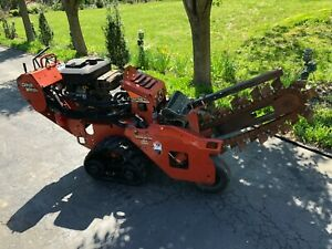 Ditch Witch Rt16 Track Drive Trencher Digger Trench Cutter Clean Ready To Use