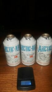 Artic Air 3 Full R12 Refrigerant 14oz Cans And 12oz Ig lo 4oz Oil