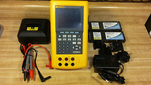 Fluke 744 Documenting Process Calibrator W Charger Batteries Test Leads