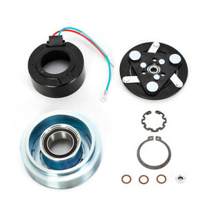 Ac Compressor Clutch Pulley Hub Coil Assembly Fit For Honda Civic 2001 2005 1 7l