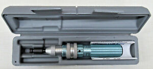 Armstrong 64 005 1 4 Dr Adjustable Torque Wrench Screwdriver Made In Usa