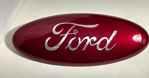 2004 2015 Ford Edge f 150 Custom Paint Emblem 9 grille Or Tailgate Ruby Red