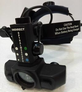 Binocular Rechargeable Wireless Indirect Ophthalmoscope With Accessories